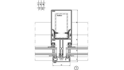 SG-65 Çelik Takviyeli Giydirme Cephe Sistemi