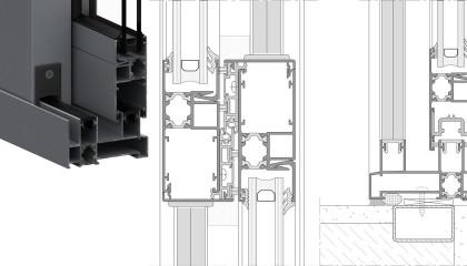 ST-91 Çıtalı Yalıtımlı Sürme Sistemi