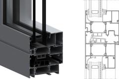 WT-70 Yüksek Yalıtımlı Kapı ve Pencere Sistemi